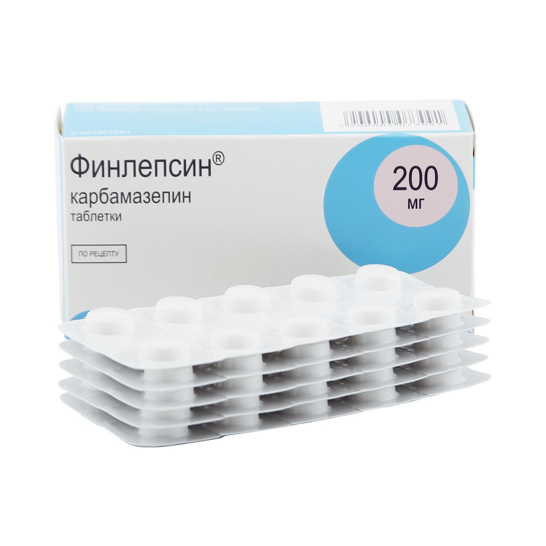 Финлепсин таблетки 200 мг 50 шт.