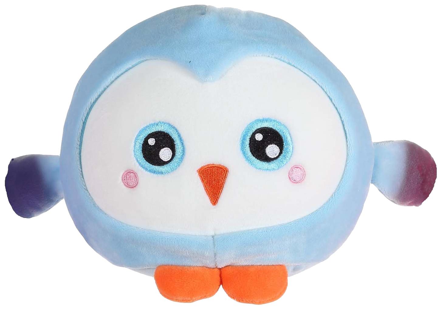 Купить Мягкая игрушка-антистресс 1Toy Squishimals Голубой пингвин 20 см, 1 TOY, Мягкие игрушки антистресс