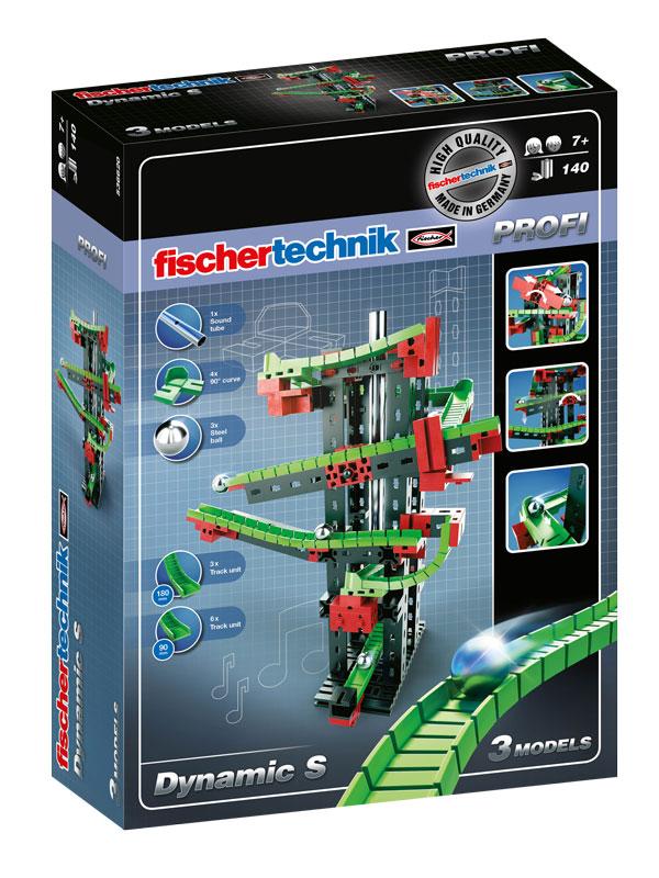 Купить Конструктор пластиковый Fischertechnik Dynamic S / Динамика S, Конструкторы пластмассовые