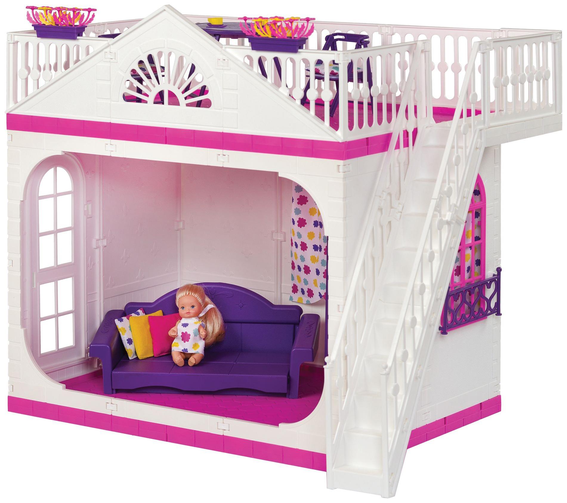 Купить Домик кукольный Огонек Зефир С-1404, Кукольные домики
