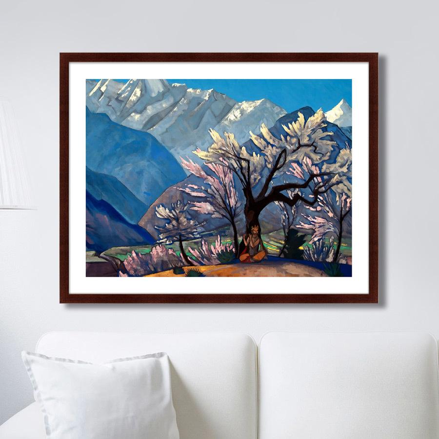 Картина Кришна (Весна в Кулу), 1930г,, 78,5х100см, Картины в Квартиру