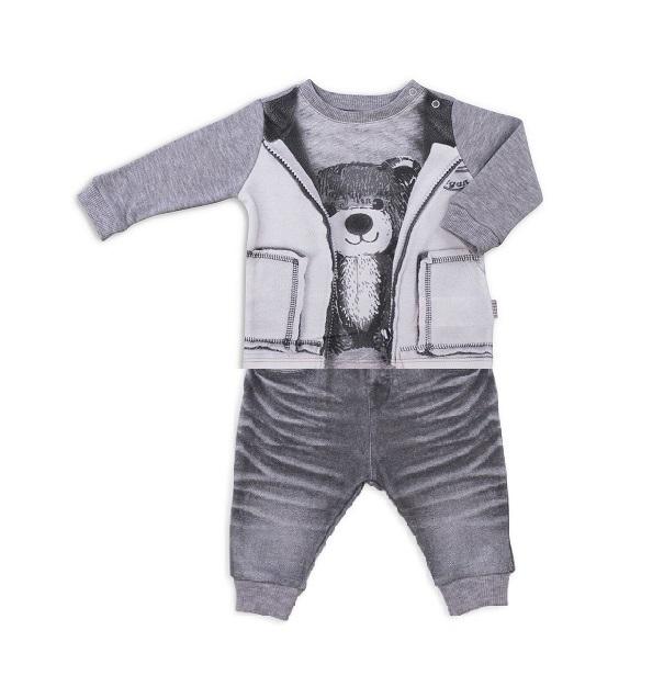 Комплект 2 пр. Папитто для мальчика Fashion Jeans 582-05 р.22-68