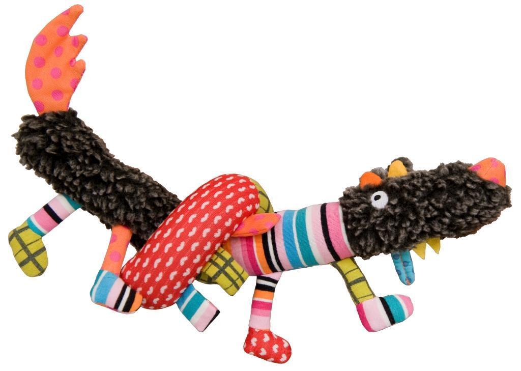 Купить Мягкая игрушка Ebulobo Сосиска Волчонок XL 65 см, Мягкие игрушки животные