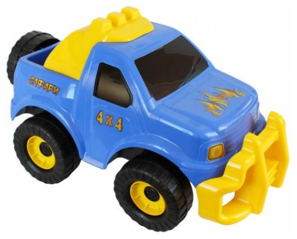 Купить Машинка пластиковая Совтехстром Джип стром сафари Р51771, Игрушечные машинки