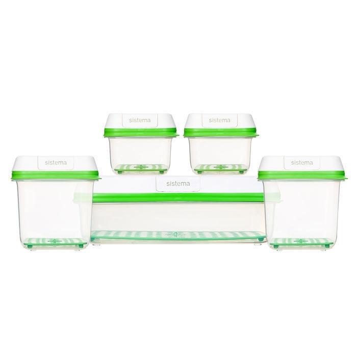 Sistema Набор контейнеров FreshWorks (5 шт)