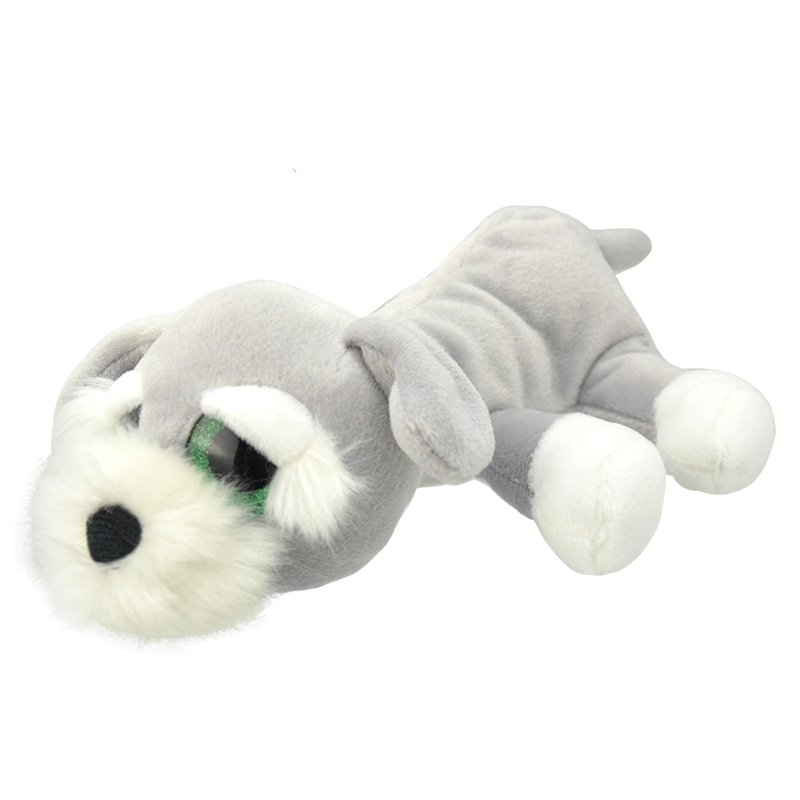 Купить Мягкая игрушка Wild Planet Шнауцер 25 см, Мягкие игрушки животные