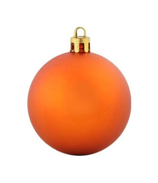 Набор елочных шаров Оранжевые шары Snowmen ЕК0291 Оранжевый