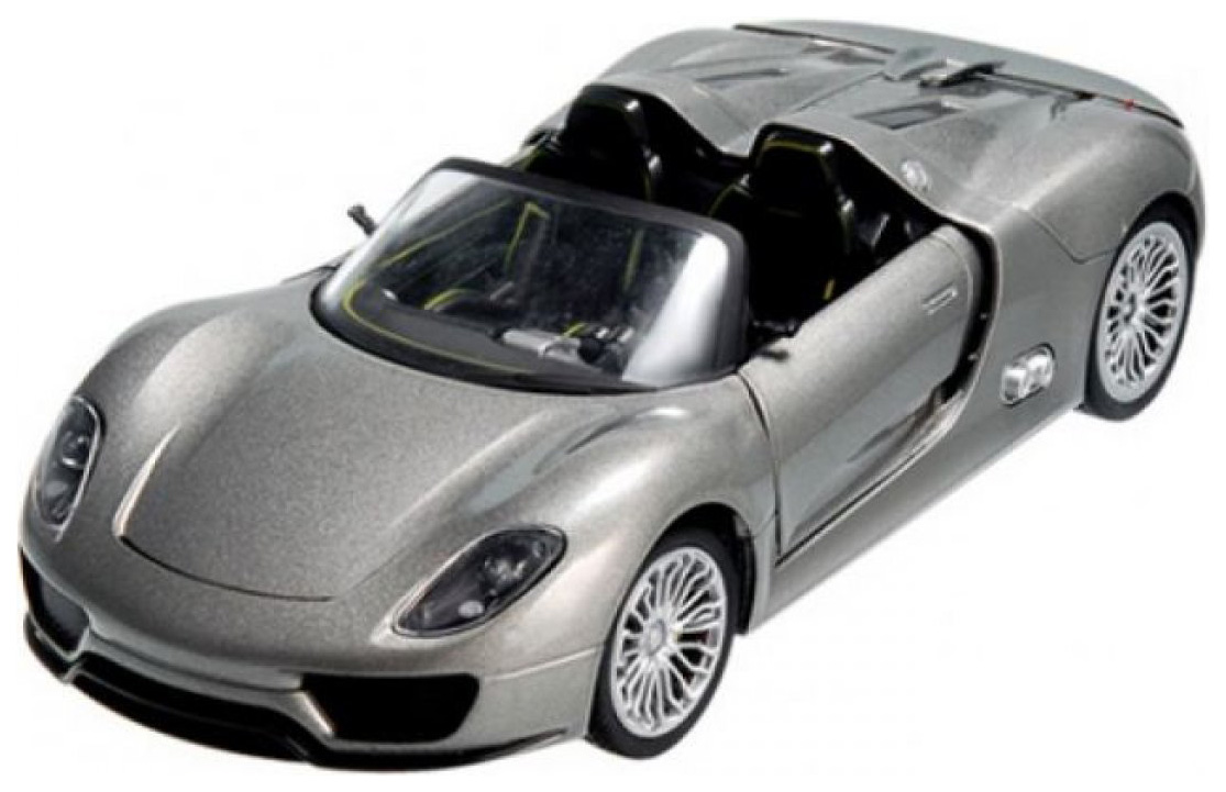 Купить Радиоуправляемая машинка Meizhi Porsche 918 Серебристый, Радиоуправляемые машинки
