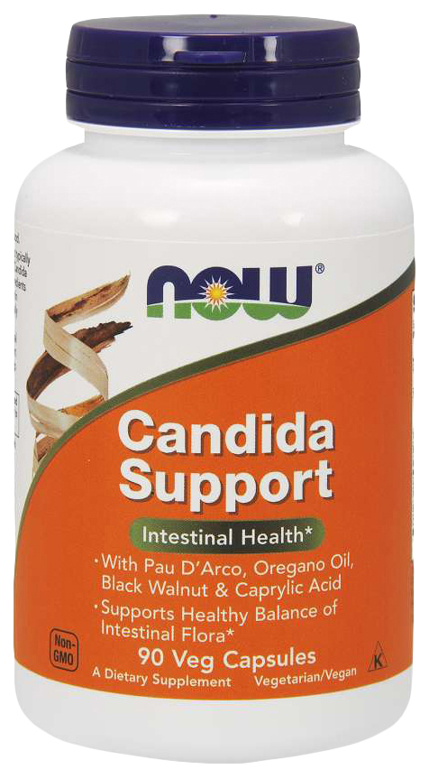 Купить Для пищеварения NOW Candida Support 90 капсул