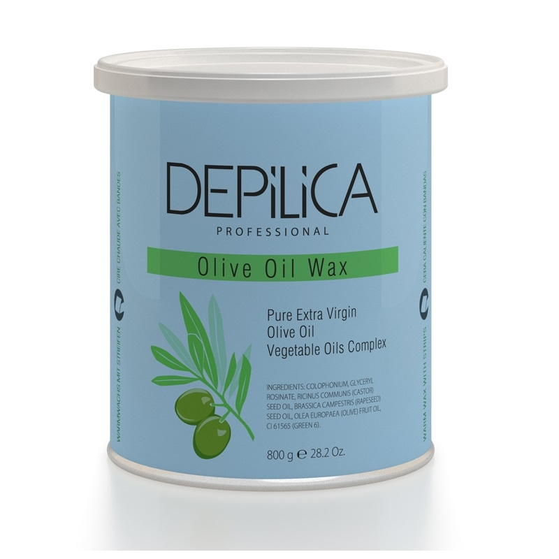 Воск для депиляции Depilica Professional Olive Oil Warm Wax 800 г