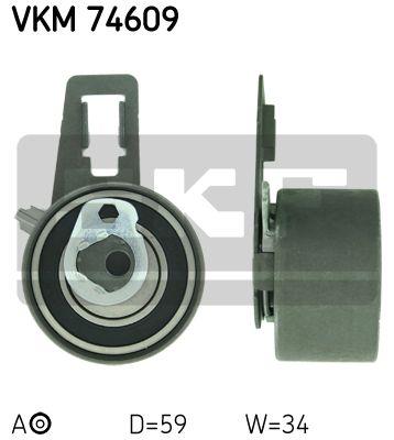 Натяжной ролик SKF VKM 74609