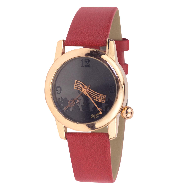 Часы Kawaii Factory Опера красные