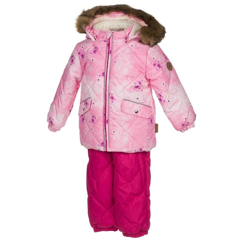 Комплект верхней одежды Huppa, цв. розовый р. 86 Noelle