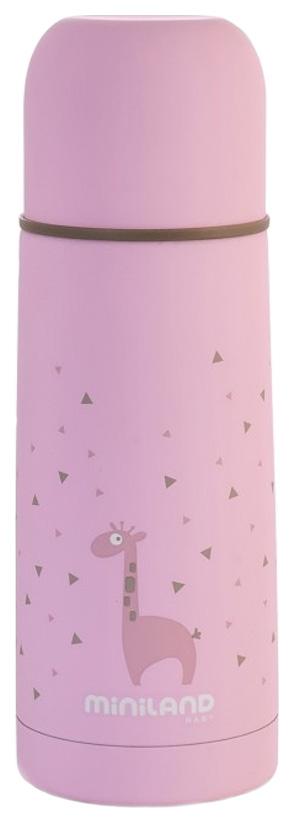 Термос Miniland Silky 0,35 л розовый