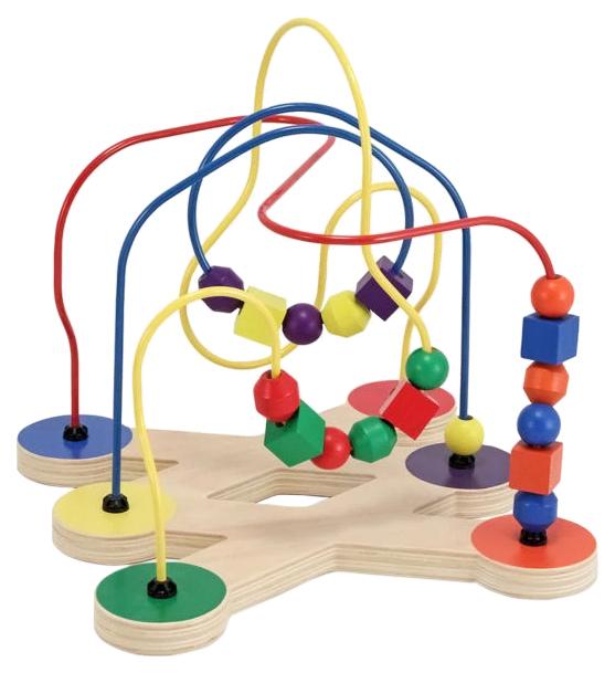 Купить Деревянная игрушка Melissa&doug Лабиринт с бусинами Классические игрушки, Melissa & Doug, Развивающие игрушки