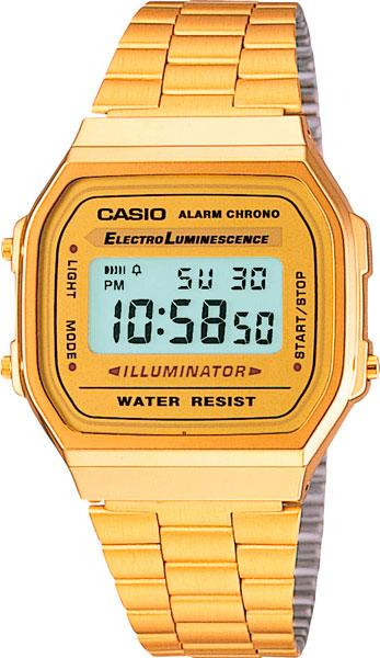 Японские наручные часы Casio Collection A-168WG-9
