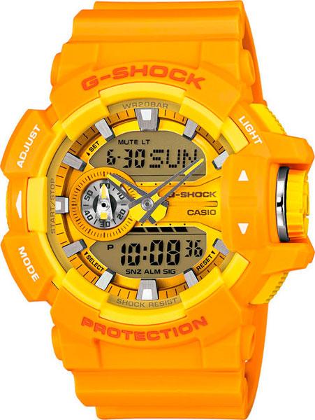 Японские наручные часы Casio G-Shock GA-400A-9A с хронографом фото