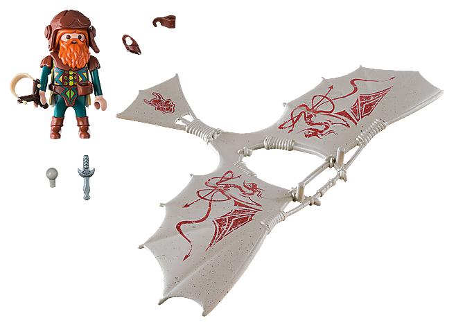 Купить Игровой набор Playmobil Гномы Гном Флаер,