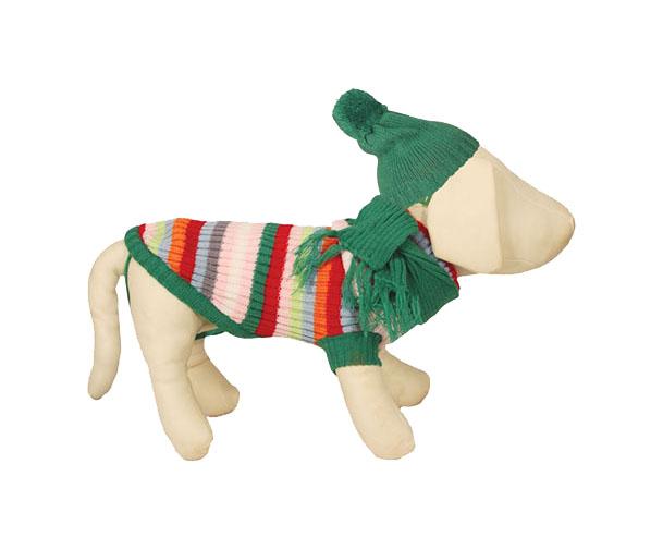 Свитер для собак Triol 8442А, унисекс, разноцветный,