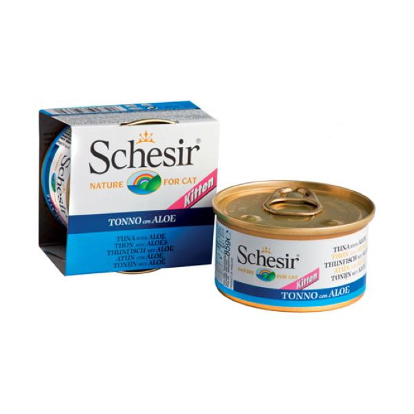 Консервы для котят Schesir, рыба, 85г