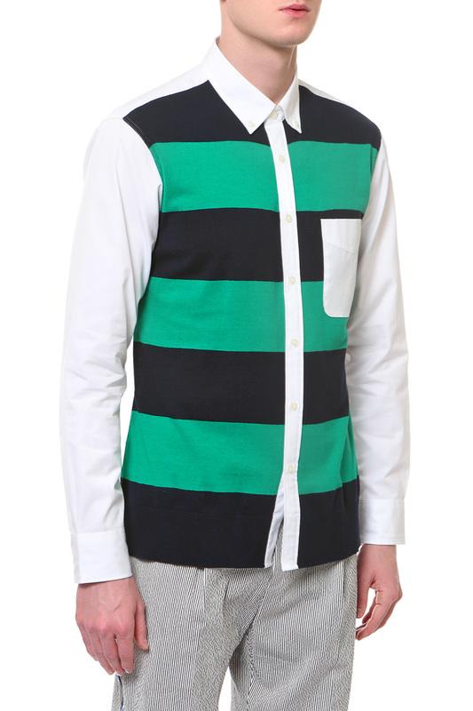 Рубашка мужская Tommy Hilfiger зеленая L