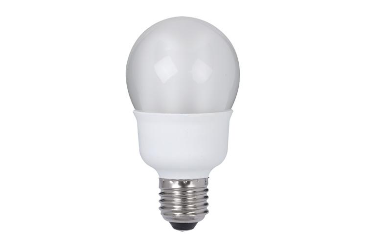 Лампа энергосберегающая, капля 7W E27 теплый бел., экстра