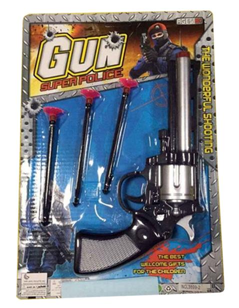 Купить Огнестрельный игрушечный пистолет NoBrand Gun - Super Police 3899-2, Игрушечные пистолеты