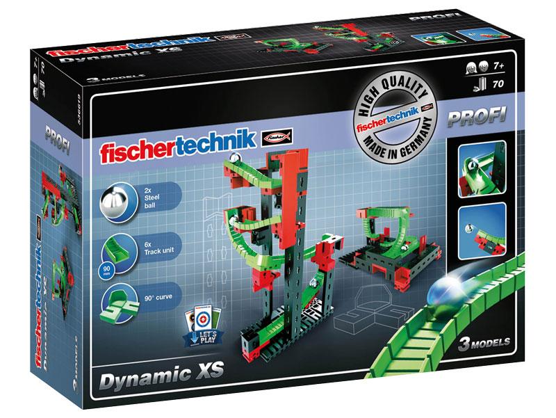 Купить Конструктор Fischertechnik PROFI Dynamic XS/Динамика XS, Конструкторы пластмассовые