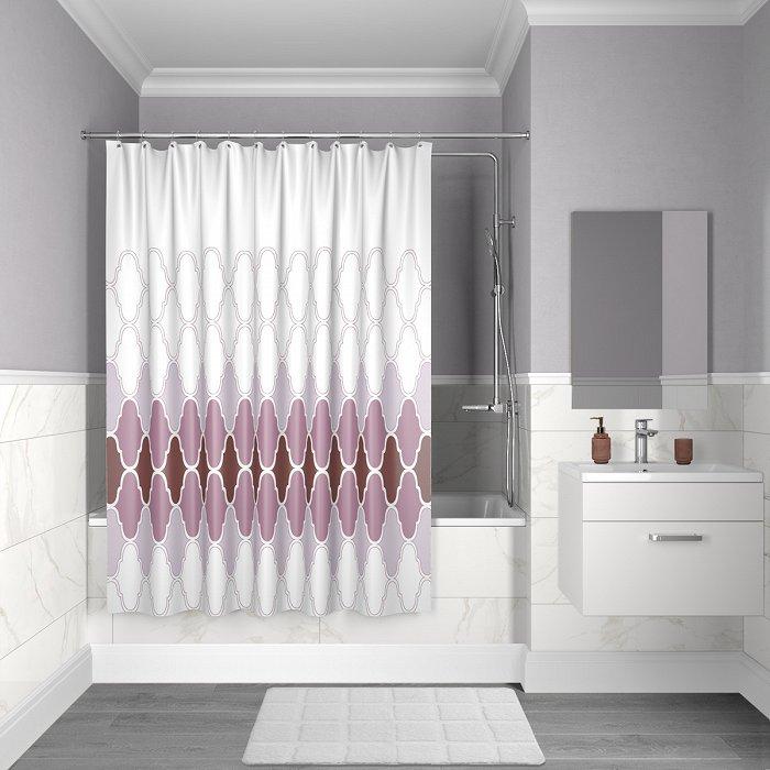 Штора для ванной комнаты IDDIS Décor D06P218i11