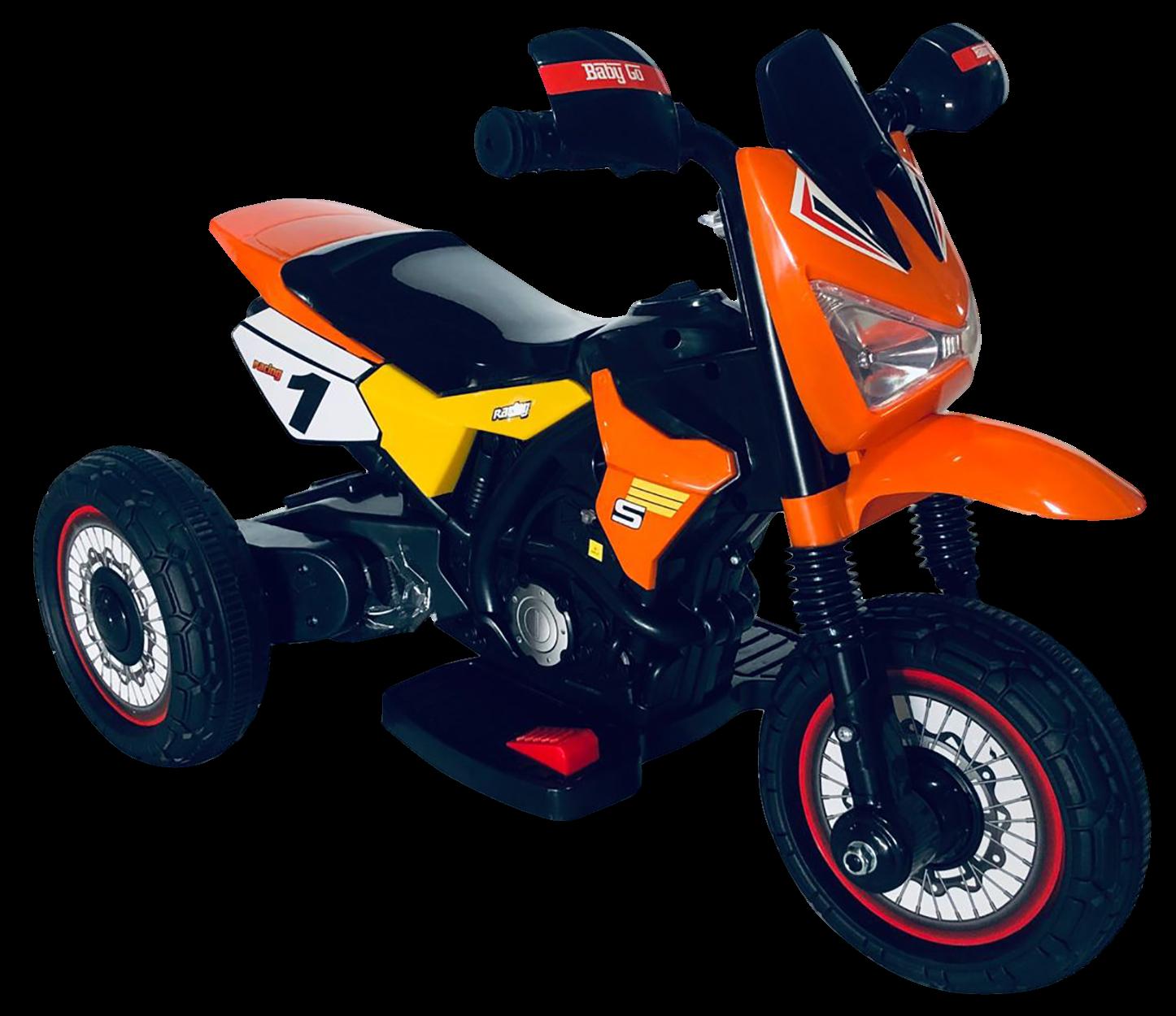 Детский электромотоцикл Farfello GTM2288 A оранжевый