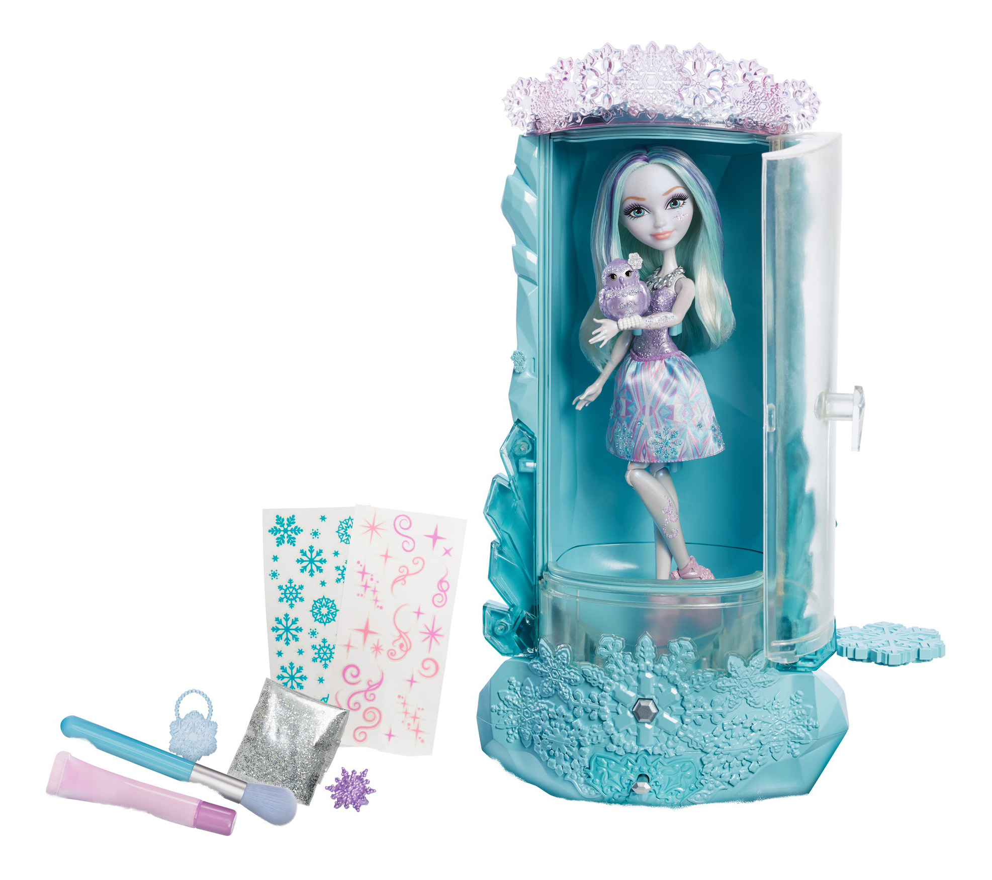 Купить Игровой набор Ever After High Блестящий вихрь из серии Заколдованная зима и Кукла, Куклы