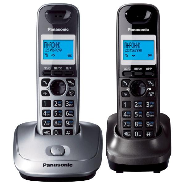 Телефон DECT Panasonic KX TG2512RU1