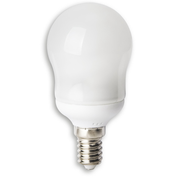 Лампа Volpe CFLG45 11/2700/E14