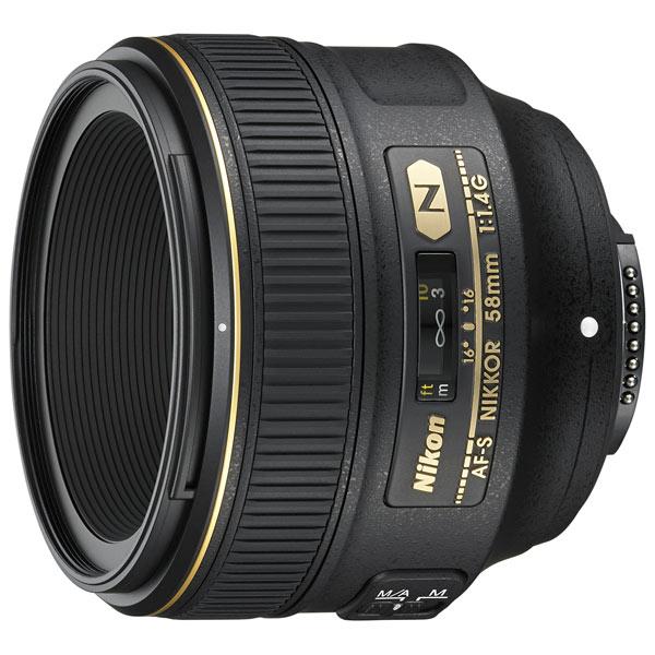 Объектив Nikon AF-S Nikkor 58mm f/1.4G