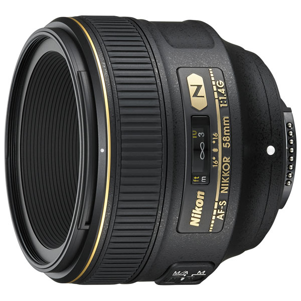 Объектив Nikon AF-S Nikkor 58mm f/1.4G фото