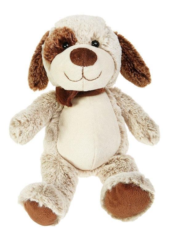 Купить Мягкая игрушка Button Blue Щенок Артемка, 30 см, Мягкие игрушки животные