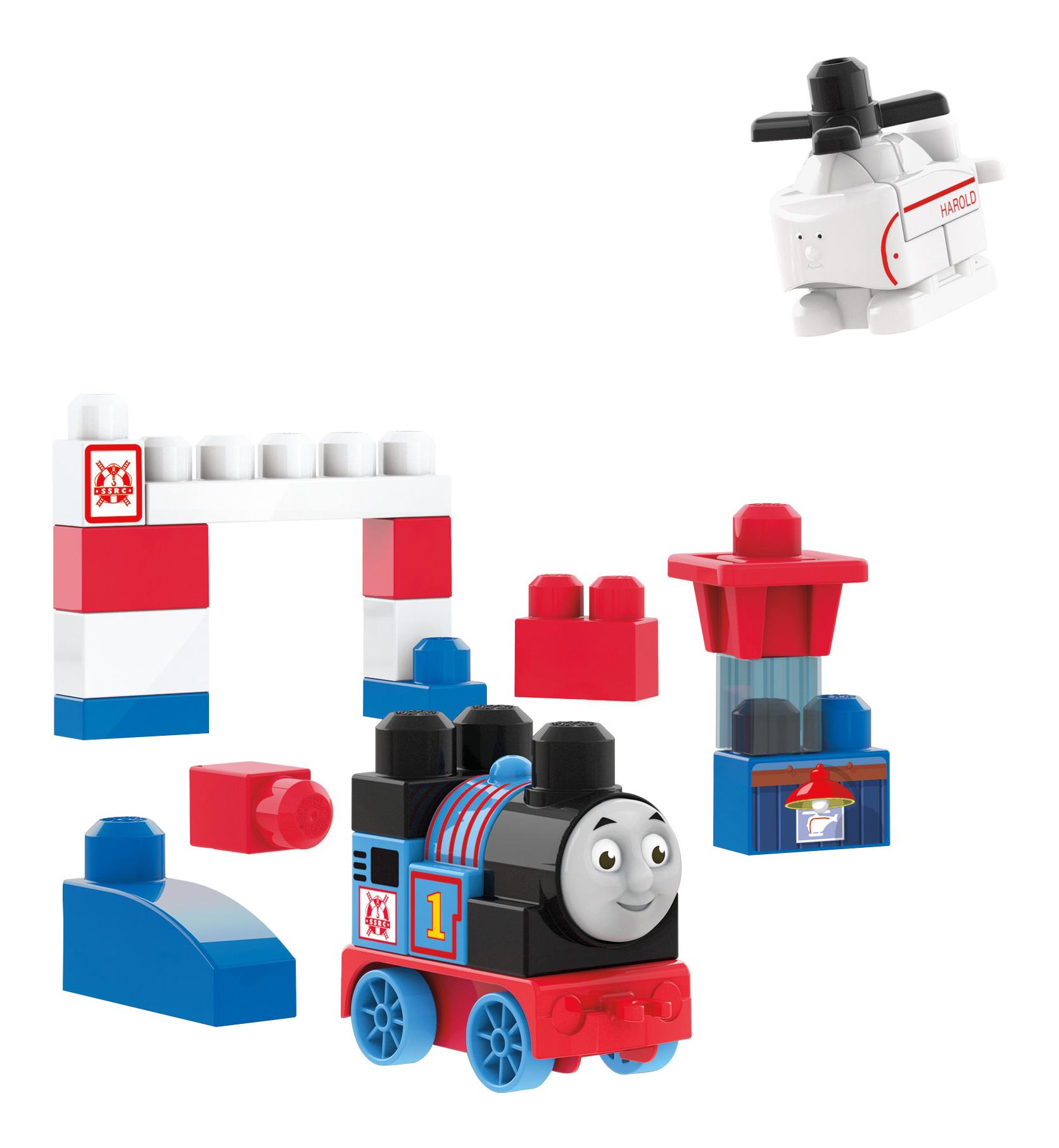 Конструктор Mega Bloks® Томас и друзья: Томас и Гарольд DXH55 фото