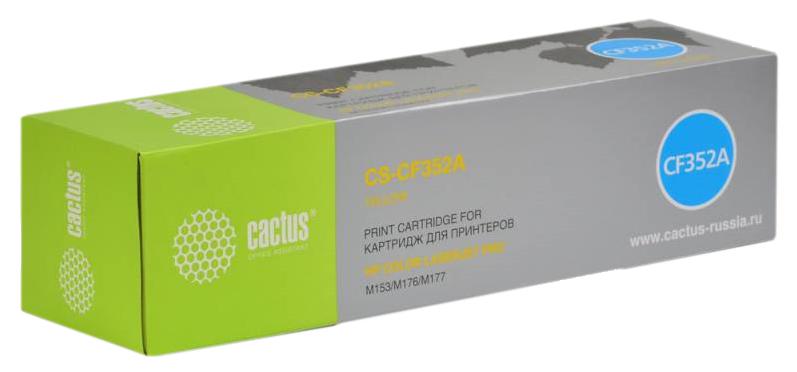 Картридж для лазерного принтера Cactus CS-CF352A желтый