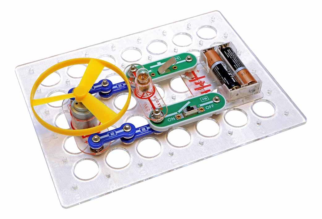 Конструктор Знаток Первые шаги в электронике набор А фото