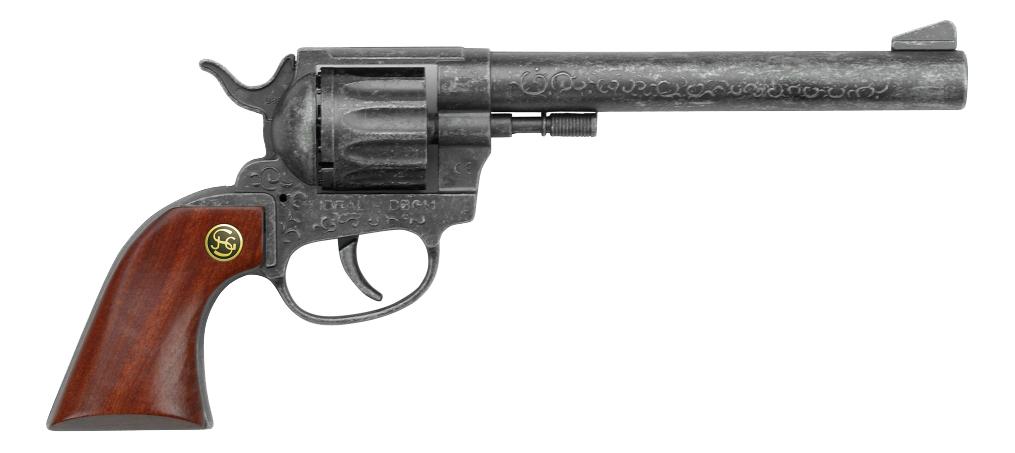 Купить Пистолет игрушечный Schrodel Buntline рукоятка из дерева (2050102), Игрушечные пистолеты