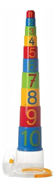 Пирамидка развивающая Gowi Цифры 10 предметов.