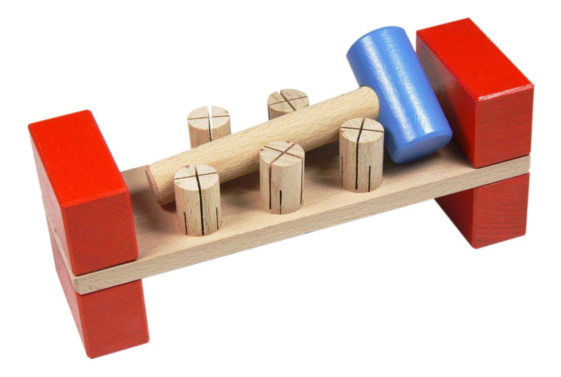 Деревянная игрушка для малышей Престиж-Игрушка Гвозди-перевертыши фото