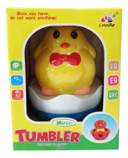 Неваляшка Junfa Toys Tumbler. Цыпленок LB8808B