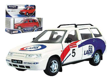 Купить Лада 111 спорт, Коллекционная модель Autotime Лада 111 спорт 1:34,