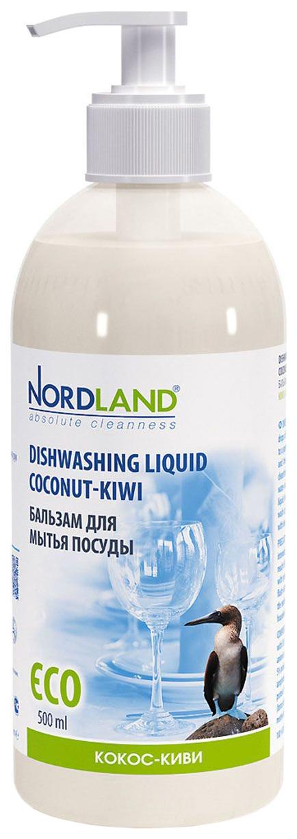 Средство для мытья посуды Nordlan кокос-киви 500 мл фото