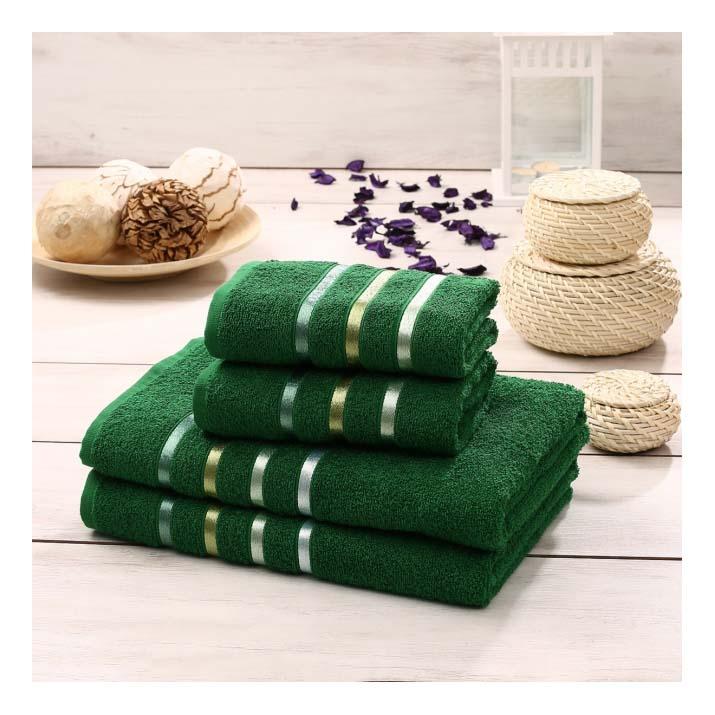 Набор полотенец KARNA зеленый