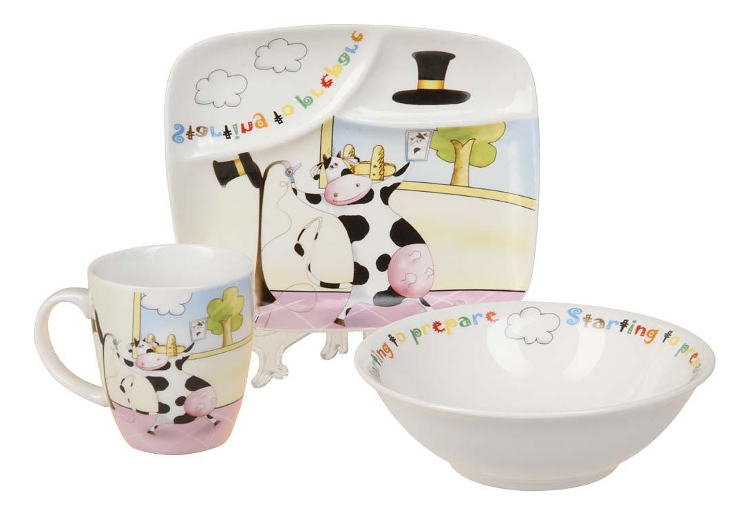 Купить Набор детской посуды 8775, Набор детской посуды, Rosenberg, Наборы детской посуды