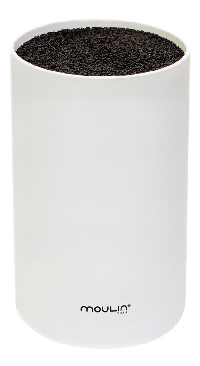 Подставка для ножей MOULINVilla STN 1W, белая