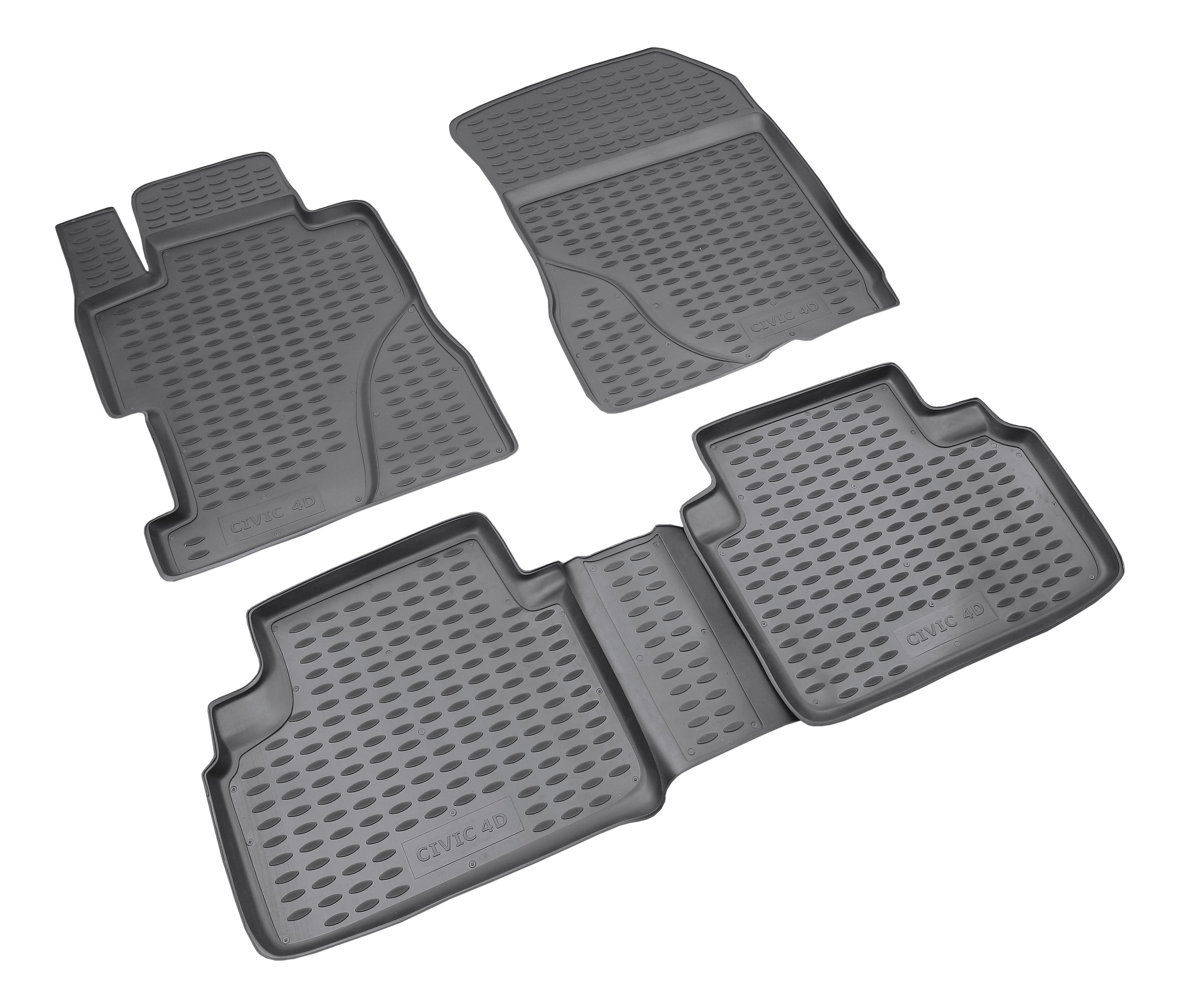 Комплект ковриков в салон автомобиля Autofamily для Honda (NLC.18.09.210k)
