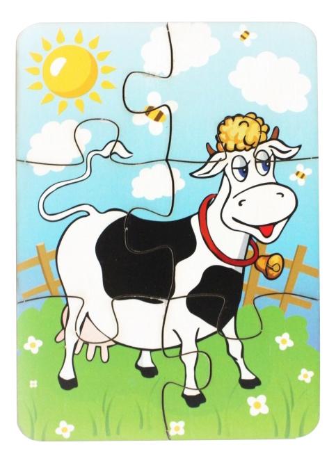 Пазл Мастер игрушек Корова на лугу